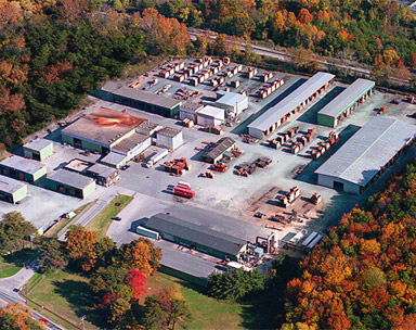 aerial view of J Gibson McIlvain company
