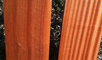 flat sawn and quarter sawn Sapele