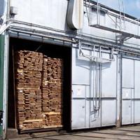 full kiln for drying lumber