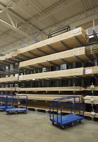 retail lumber store