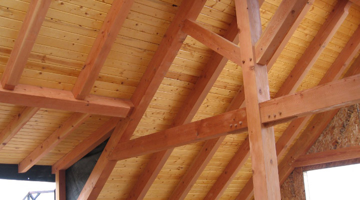 douglas fir wood beams