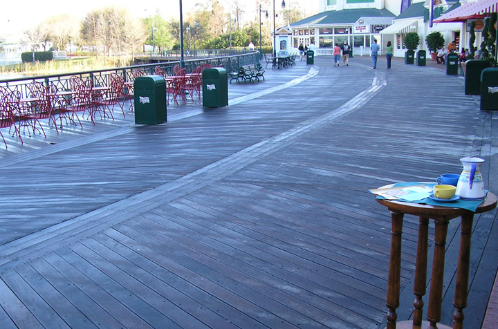 disney boardwalk ipe decking
