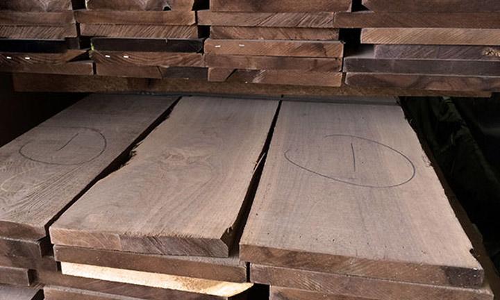 wide walnut boards